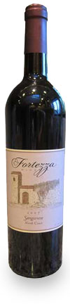 Fortezza Wine Bottle